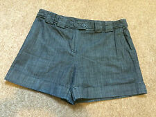 Ladies M & S Limited Edition Denim Shorts Size 18 VGC