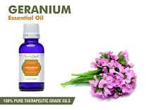 Geranium Rose Essential Oil 100% Pure Natural PREMIUM Therapeutic Grade Oils