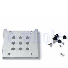 """1/2/4 Pieces 2.5"""" to 3.5"""" HDD SSD Hard Drive Bay Rack Mount Bracket Adapter WS"""