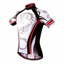 Men's Sport Cycling Jersey Bicycle Wear Clothing Short Sleeves Shirt Top S~2XL