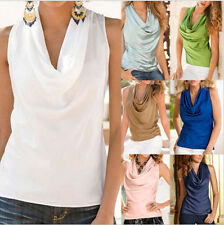 Tank Tops Summer Blouse Womens Fashion Sleeveless T-Shirt Casual Top Vest