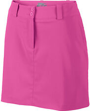 NIKE MODERN RISE TECH WOMEN'S GOLF SKORT SKIRT PINK POW 618150-667 NEW