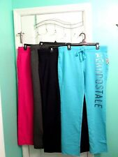 NWT-WOMEN'S AEROPOSTALE SEQUINED AERO SKINNY SWEATPANTS U-CHOOSE:LG/X-LG/XX-LG