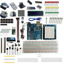 Ultimate Starter Kit for Arduino UNO R3 1602 LCD Servo Sensor LED Breadboard I5