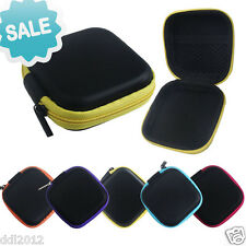 Zipper Storage Bag Carrying Case for Hard Keep Earphones SD Card Area On Sale