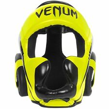 VENUM ELITE HEADGEAR-NEO YELLOW UFC MMA BOXING