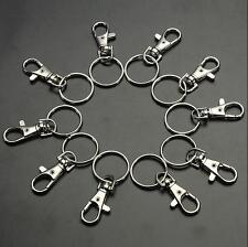 10/20 Bag Clips Snap Finding Key Ring Clasps Lobster Charm Swivel Hooks Trigger