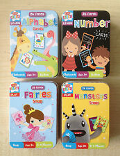 Childrens Kids Snap Card Game Alien or Fairy Design in Tin Case, Party Bag, Toy