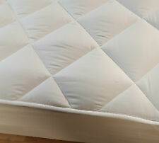 New Anti Allergy Quilted Microfibre Mattress Topper Protector 250 GSM All Sizes