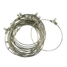20PCS Lot Round Hoop Loop Earring Ear Wire Jewelry Making Findings For Beading