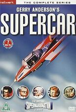 Supercar - The Entire Series DVD Boxset 7 Discs NEW 5027626217648 Gerry Anderson