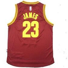 Cleveland Cavaliers 23 LeBron James red Jersey