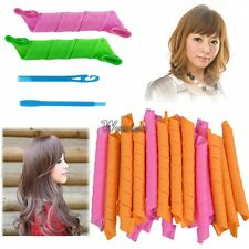18PCS/20PCS New DIY Magic Leverag Circle Wave Hair Styling Roller Curler WT88