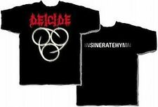 Deicide Insineratehymn T-Shirt Black Small Medium Heavy Metal Rock New