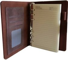 Leather Tree-Free Natural Paper Memo Datebook Notepad Planner 7x5 Notebook