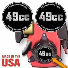 49cc,4 Stroke Motorized Bicycle Engine Decals Graphic Detail Kit Emblem