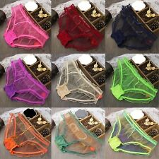 Women Sexy See-through Panties New Briefs Knickers Bikini Underwear Lingerie CHI