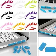 "Silicone Anti-dust Plug Port Cover For Macbook Air Pro Retina 11""/13""/15"" Laptop"