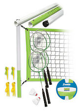 Franklin Sports Industry 50601 Badminton & Volleyball Set, Intermediate -