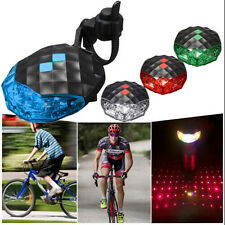 Lamp Light Warning Safety 5 LED+ 2 Laser Flashing New Bicycle Rear Tail