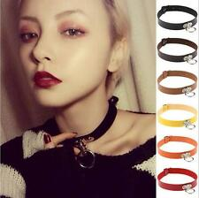 Collar Gothic Necklace Classic Pendant Punk Choker Leather Chain Neck Ring New