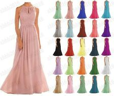 Lace New Bridesmaid Formal Ball Gown Party Cocktail Evening Prom Dresses6-22