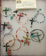 Bible Bookmark with Horseshoe Nail Cross @HAND-CRAFTED$$$PRICE REDUCED$$$AGAIN$$