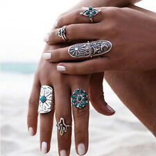 Punk Womens Boho Hot Retro Geometry Finger Rings Vintage Style Ring
