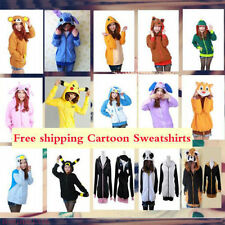 Sell Polar Fleece Animal Cute Cartoon Hoodie Hooded Hoody Coat Jacket Hot!