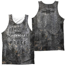 CHEVY METAL BOWTIE Sublimation Men's Graphic Tank Top Sleeveless Tee SM-3XL