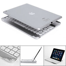 New Stand Aluminum Bluetooth Wireless Keyboard Docking Case For iPad MiniAir Pro
