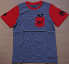 Fox Boys Teen Men Tee T-Shirt Top size 14 16 18 20 New without Tags FOX RACING