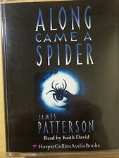 JAMES PATTERSON ALONG CAME A SPIDER AUDIO BOOK ON 2 CASSETTES