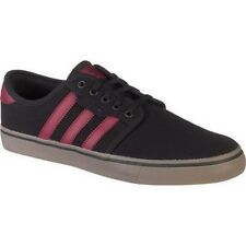 ADIDAS ORIGINALS SEELEY BLACK/RED/GUM SKATEBOARDING Mens Shoes BRAND New in BOX!