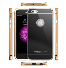 iNACU® iPhone 6/6S, Tempered Glass Lock Button Full Cover, Aluminum Frame