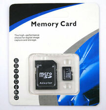 ~32GB Micro SD SDHC TF Memory Card Class 10 w/SD Adapter for Smart Phones Tablet