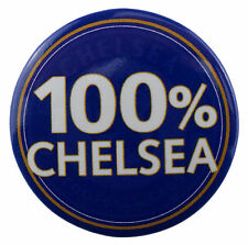 Chelsea Football Club 100% Chelsea Official 38mm Badge