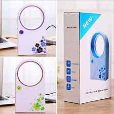 Portable Mini Fans No Leaf Fan Bladeless Refrigeration Desktop Air Conditioner