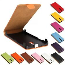 Genuine leather Flip Case Cover Open up Protector Skin For SONY Xperia S LT26i