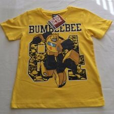 NEW - Boys TRANSFORMERS Bumblebee T-Shirt - Size 4, 5