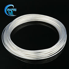 1.0mm2 19strands*0.26 Teflon high purity Copper silver wire for audio Amps AWG17