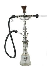 "100% Authentic 28"" Khalil Mamoon Shisha Pipe Hookah With All Accessories"