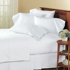 White Solid US Bedding Collection 1000TC Egyptian Cotton Select your Item & Size