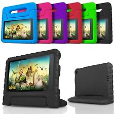 For Amazon Kindle Fire 7 HD 8 10 5th Gen 2015 Kids Handle Light Case Cover Stand