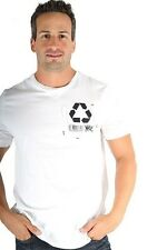 Parasuco White Recycle Reduce Rewear Environmental 9BARKO Mens T Shirt $71 CAD