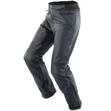 Spidi New Naked Leather Touring Motorcycle Jeans Pants - Black