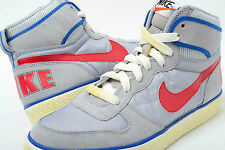 Mens Nike Big High Ac Trainers Grey/Red UK Size 7.5, 8.5