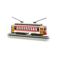 Bachmann 61092 N-Scale Brill Trolley York Third Ave Lighted Inside