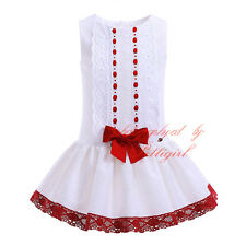 Baby Girls Princess Dress Birthday Wedding Party Pageant Christening Communion