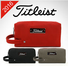 NEW TITLEIST Japan Golf Professional DOPP / Valuables pouch Zippered bag -3color